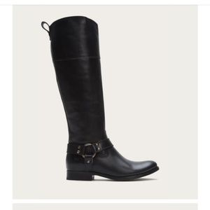 Frye Melissa Harness Riding Boot w/Ext Calf